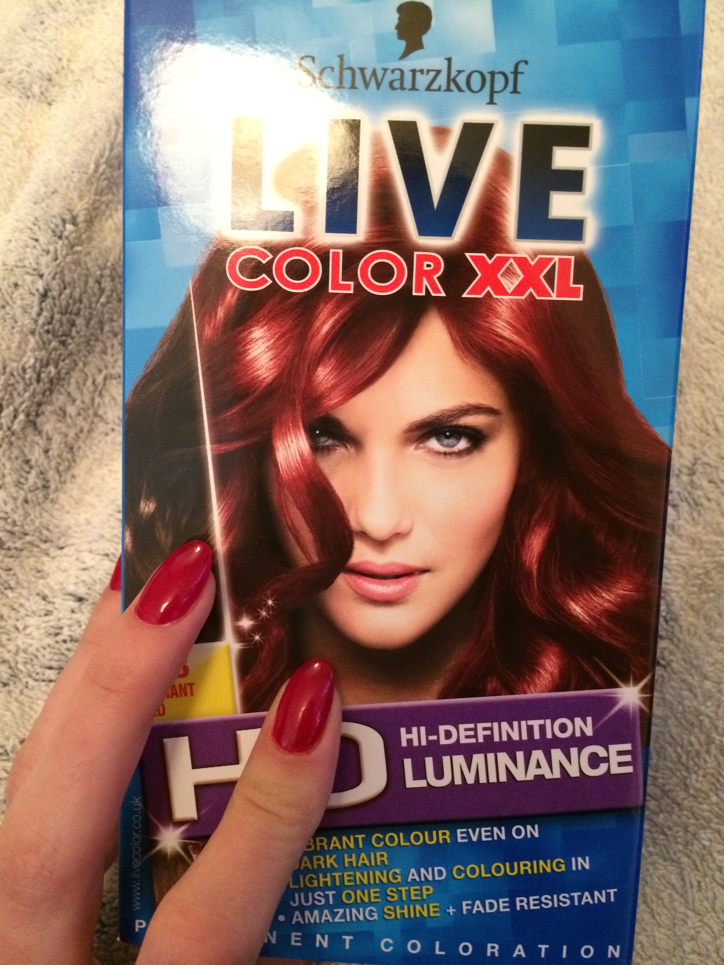 How I Created A Black To Red Ombre The Process In